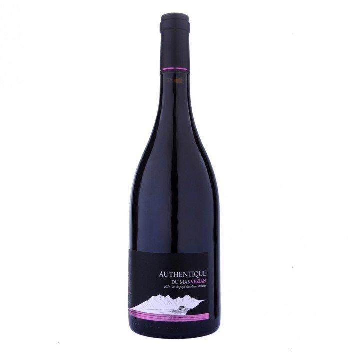 L' AUTHENTIQUE IGP- Côtes Catalanes – Rouge