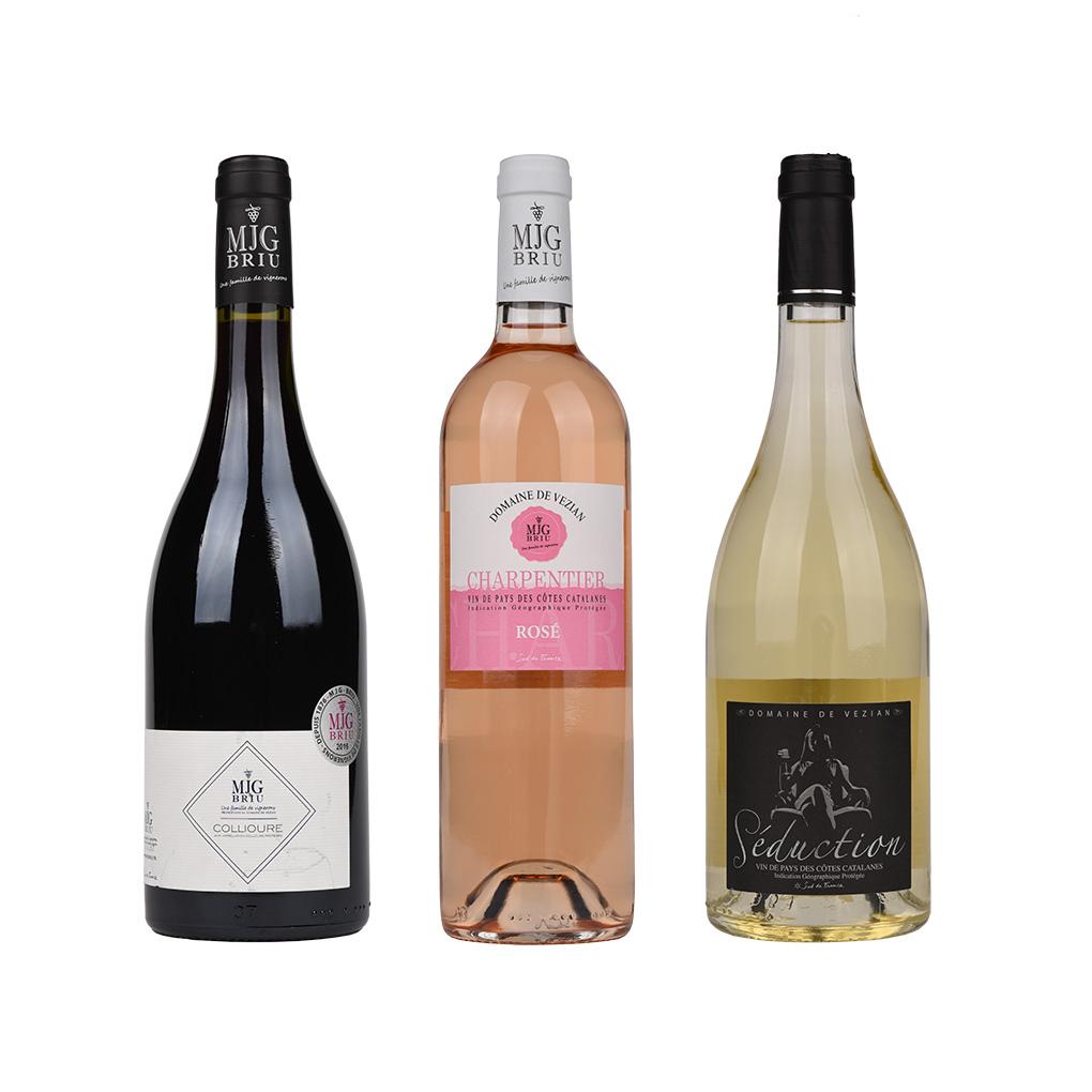 coffret découverte 3 vins